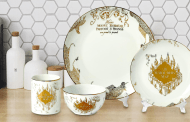 Magical Harry Potter Plate Set Inspired By The Marauder's Map
