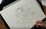 How To Draw Louis From The Princess And The Frog!