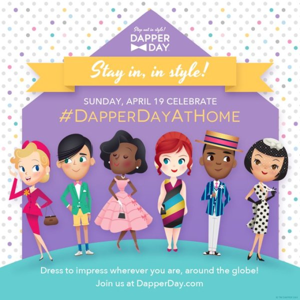 Disneyland's Dapper Day Wants You to Dress Your Best at Home