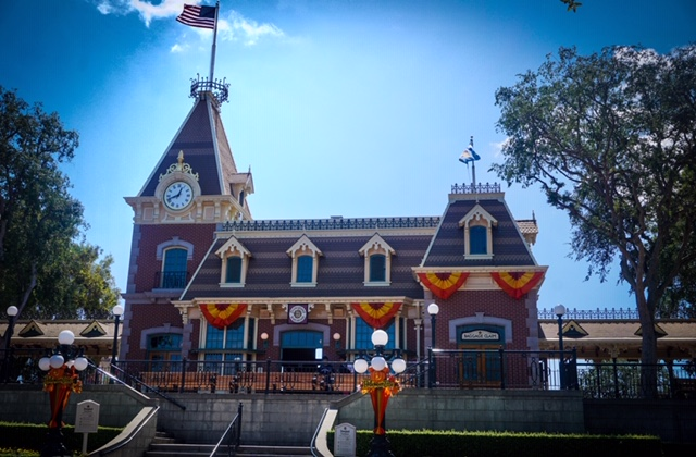 American Flag Flies High at the Disneyland Resort