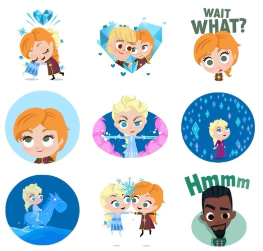 Download Disney, Pixar, Star Wars And Marvel Stickers For iMessage Completely Free! 3