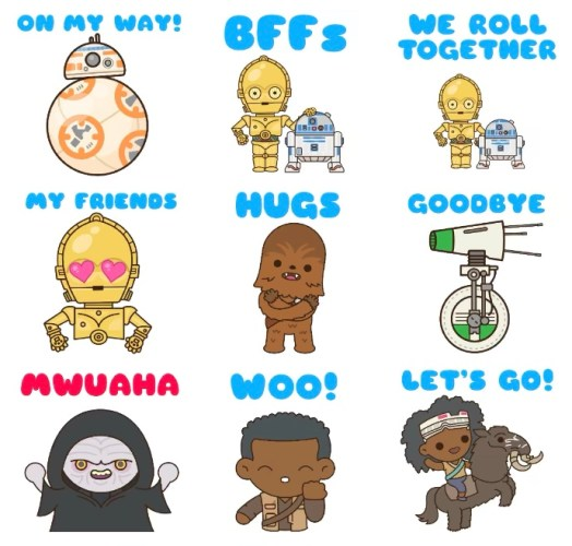 Download Disney, Pixar, Star Wars And Marvel Stickers For iMessage Completely Free! 5