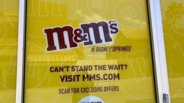 M&M Store Takes Shape in Disney Springs 2