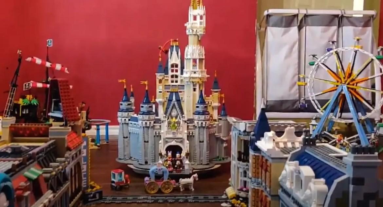 Man creates Disneyland out of Lego during quarantine!