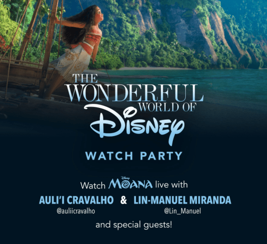 Moana Watch Party