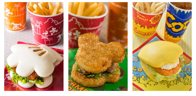 Celebrate Disney Burgers from around the globe on #HamburgerDay