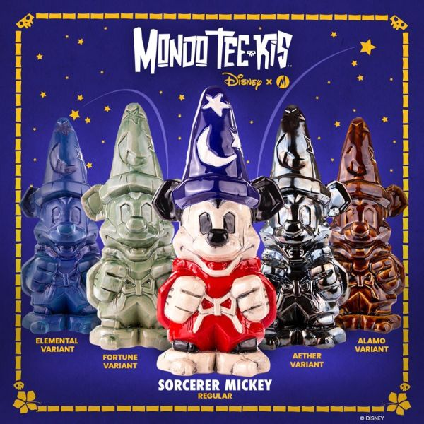 Fantastic New Sorcerer Mickey Tiki Mugs Now Have New Color Variants 1