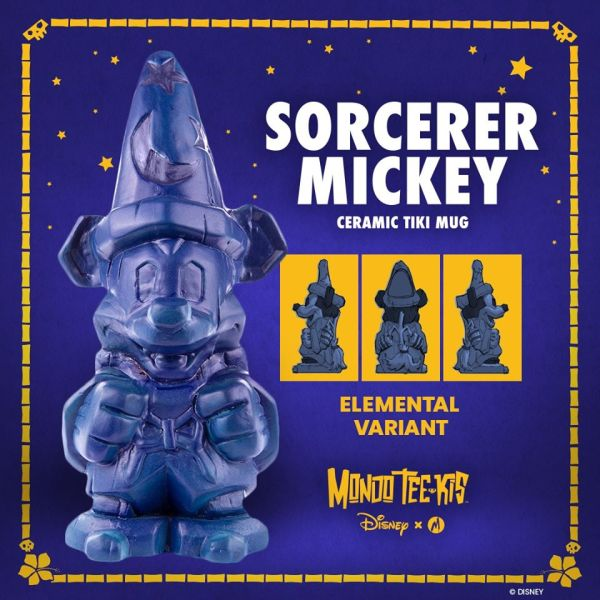 Fantastic New Sorcerer Mickey Tiki Mugs Now Have New Color Variants 3
