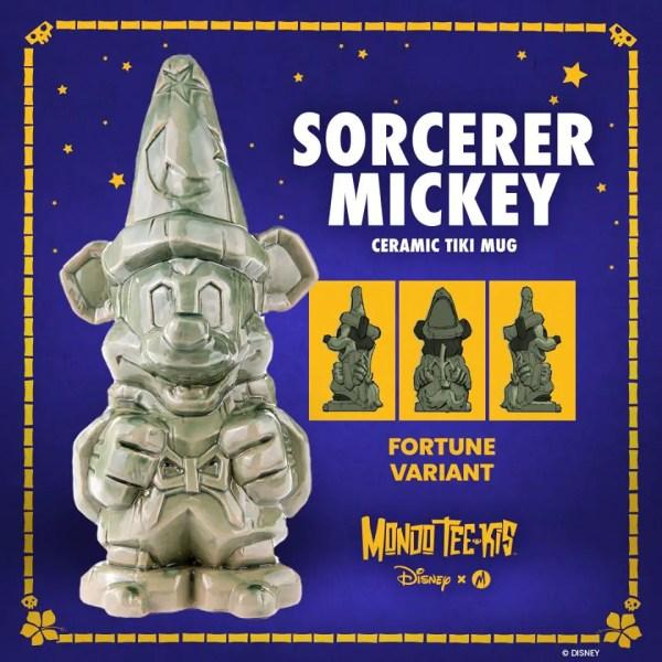 Sorcerer Mickey Tiki Mugs