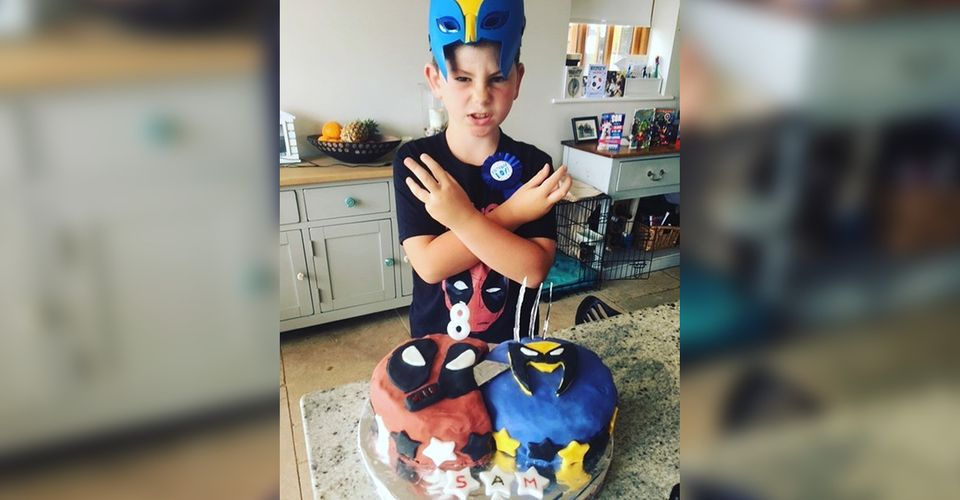 Hugh Jackman Trolls Ryan Reynolds With Kids Birthday Theme