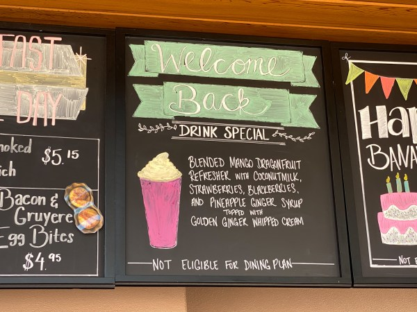 Disney Springs Starbucks Delivers a Delicious Welcome Back Drink 1