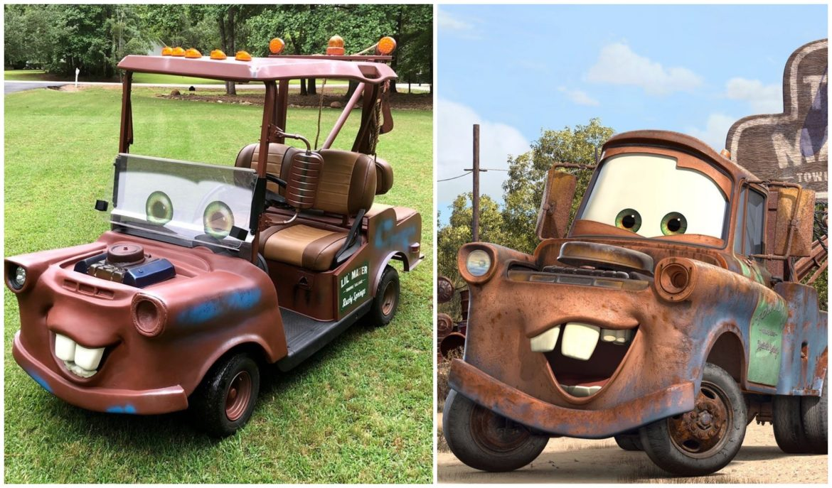 You Could Own Your Very Own 'Tow Mater' Golf Cart