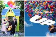 Disney Mom Creates 'Up' Themed Playhouse for her Kids