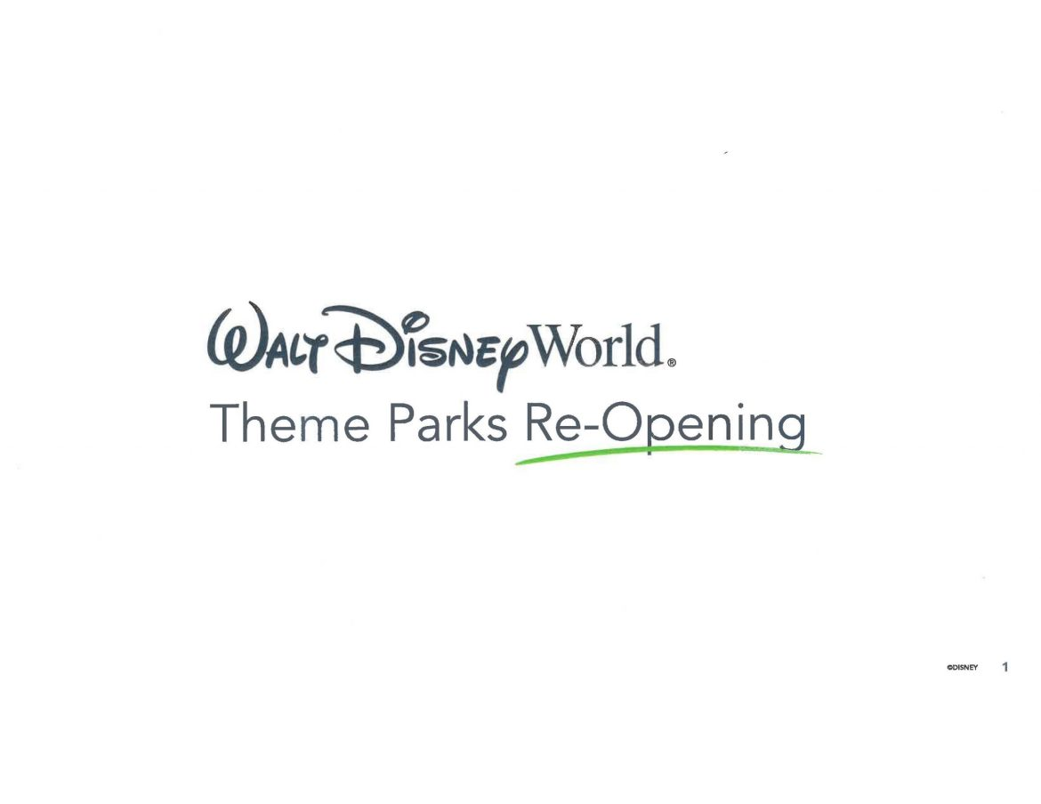 Disney World Reopening Plans from the Orange County Recovery Task Force meeting