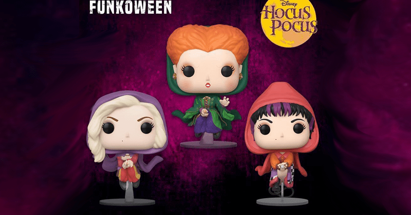 Hocus Pocus Sanderson Sisters Funko POP! Figures Are Wicked Adorable