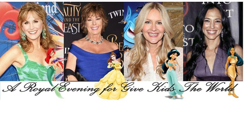 Spend An Evening With Disney Princesses And Support Give Kids The World!