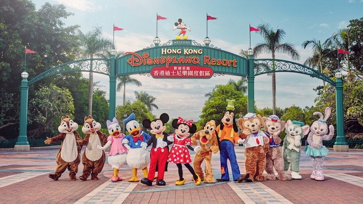 Hong Kong Disneyland soft opening starting today