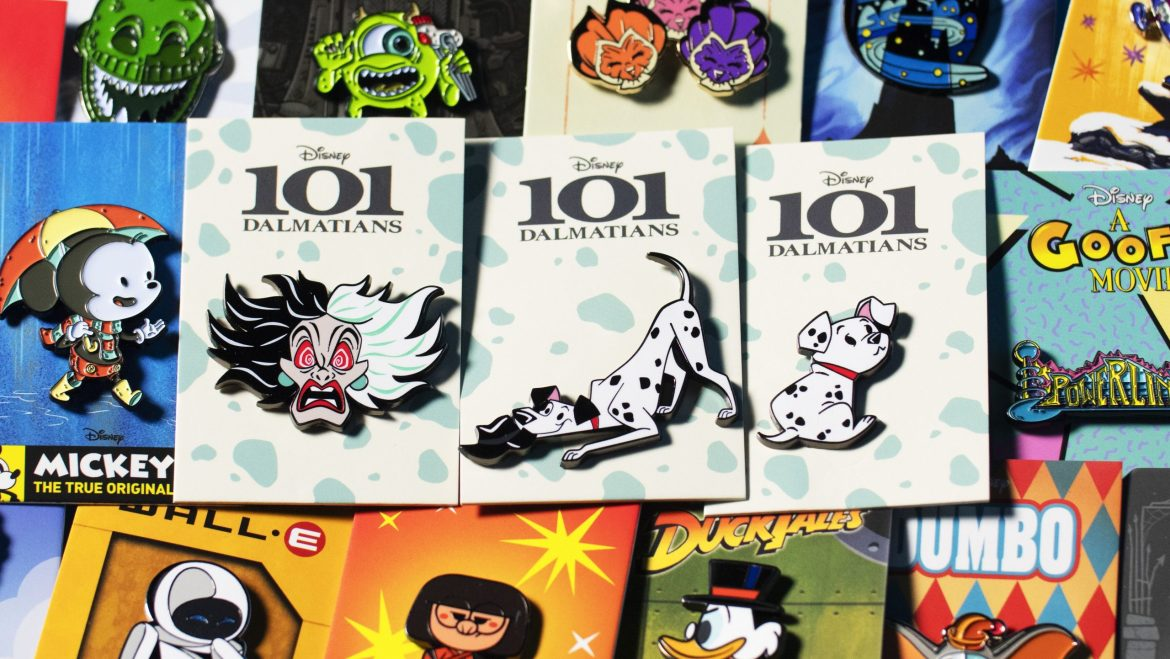 Adorable 101 Dalmatians Pins From Mondo Now Available