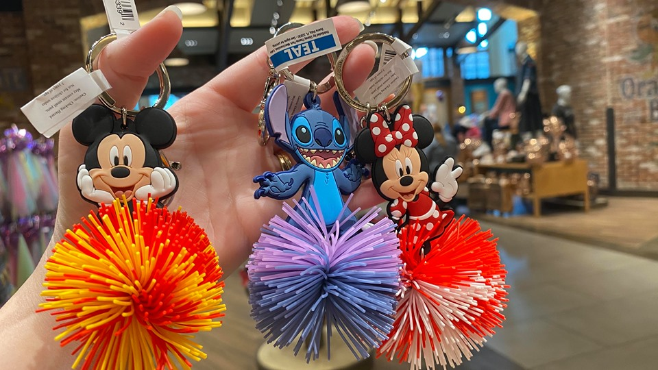 Adorable Disney Koosh Ball Keychains Have Us Jumping For Joy