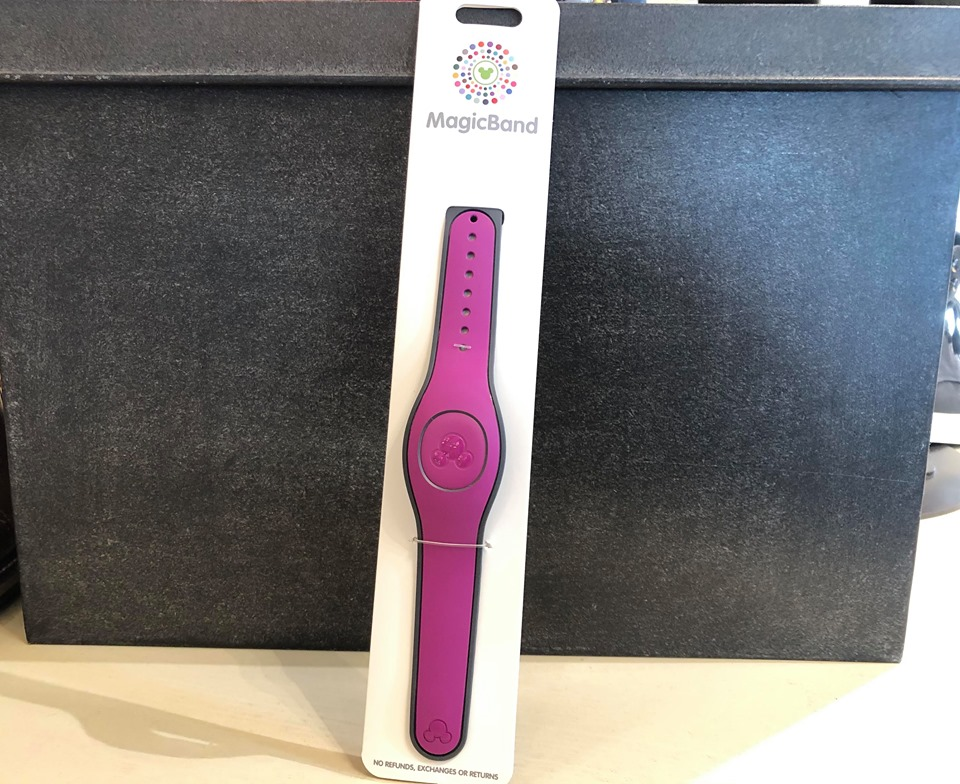 The Magenta MagicBand Is A Berry Delightful New Addition