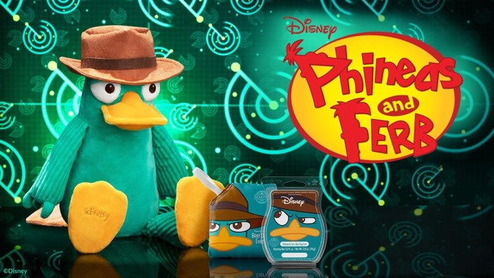 Phineas And Ferb Scentsy