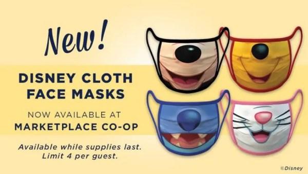 Disney Springs Selling Face Masks