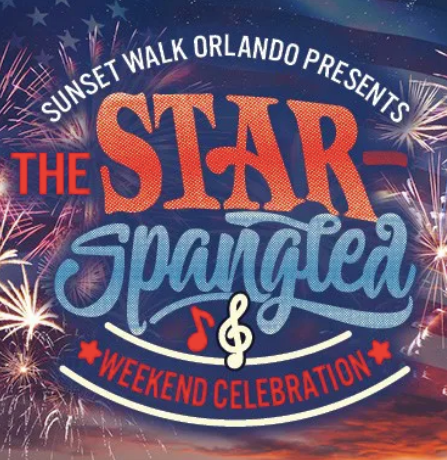 A Star-Spangled Weekend Celebration Is Coming To Sunset Walk Orlando
