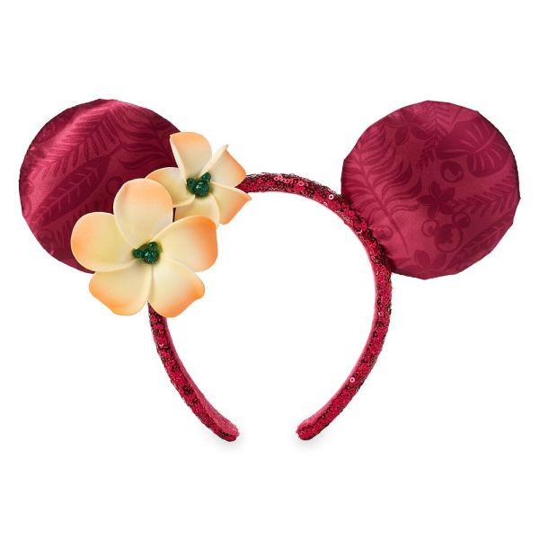 Fuchsia Aulani Minnie Ears Are Now Available On shopDisney Aulani Minnie Ears