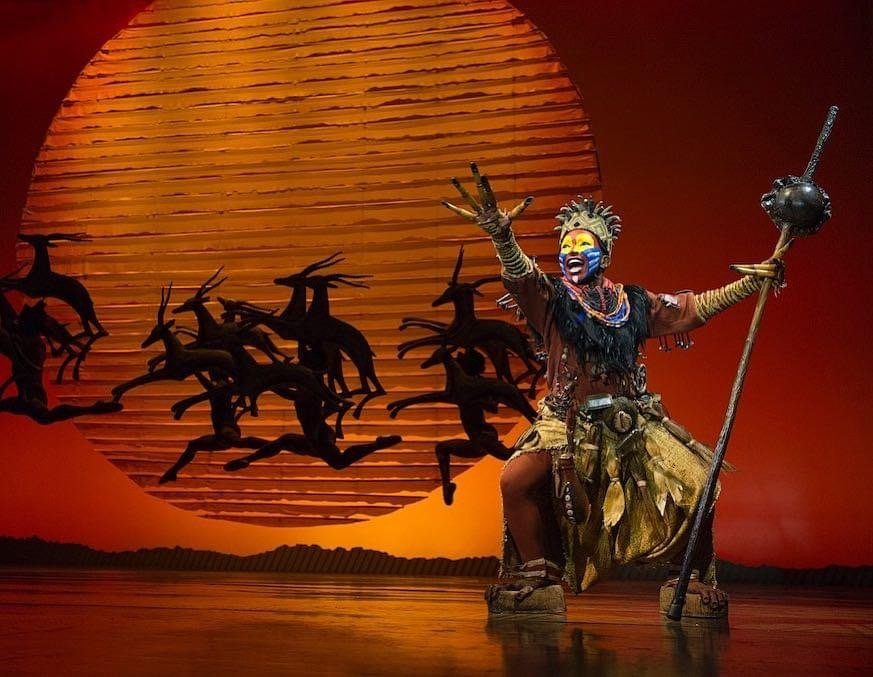 The Lion King on Broadway will reopen in 2021