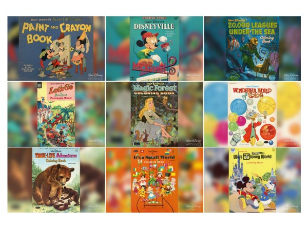 Walt Disney World Coloring Book Awesome Walt Disney Coloring Pages ... | 440x600