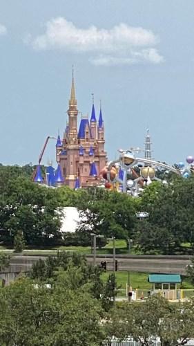 Disney World Cinderella Castle Update
