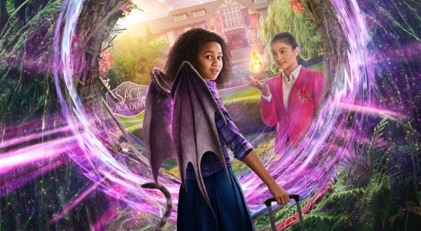 First Look Revealed for New Disney Channel Original Movie 'Upside-Down Magic' 1