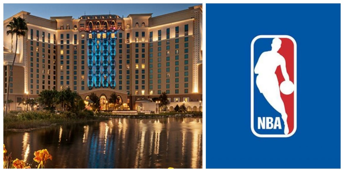 Disney and the NBA have agreed that Disney's Coronado Springs Resort is likely to be the primary host resort