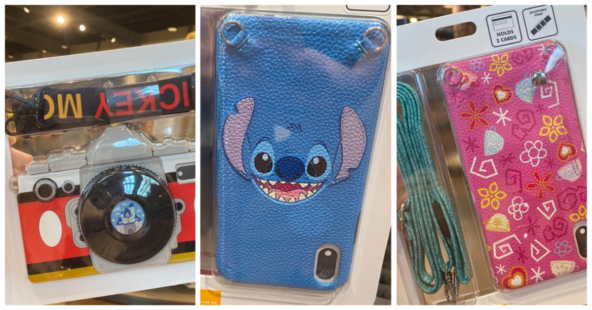 Whimsical Disney Phone Carrying Cases Have Character Appeal