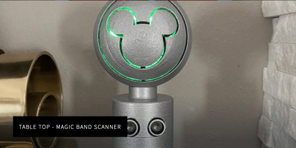 magic band scanner for at home