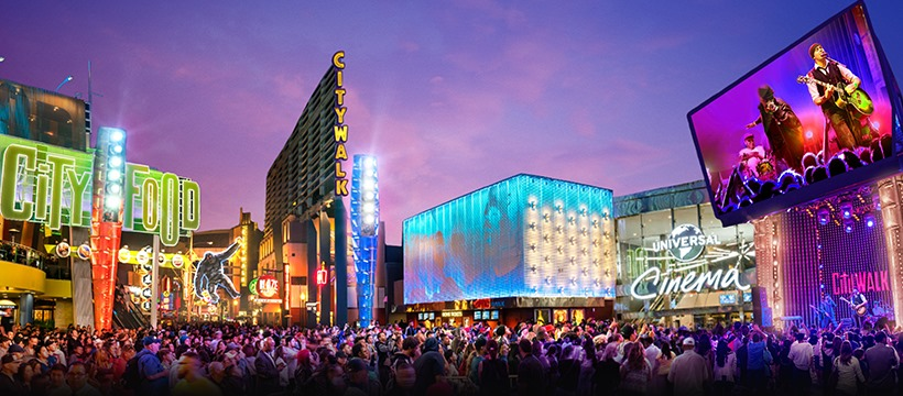 Universal CityWalk Hollywood is Open for Business Starting Today