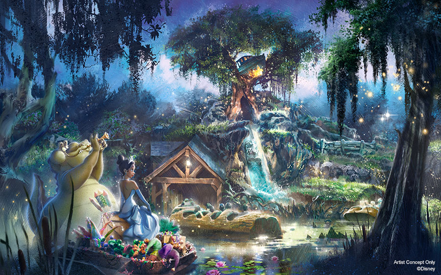Splash Mountain in Disney World and Disneyland to be rethemed to The Princess and the Frog