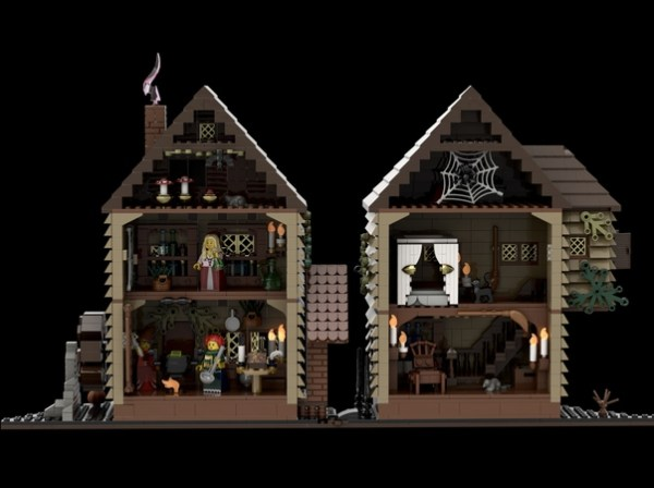 Vote for Hocus Pocus LEGO ideas featuring the Sanderson Sisters! 3