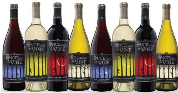 Disney's Once Upon A Vine Wine Now Available Online! Once upon a vine wine