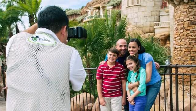 Disney World Attraction PhotoPass