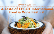A Taste of EPCOT International Food & Wine Festival starts July 15th