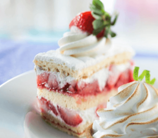 Strawberry Shortcake Recipe From Sunshine Seasons In Epcot 1