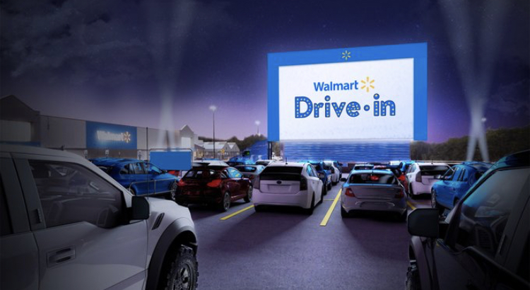 Classic Drive-In Theaters Coming To Walmart Parking Lots This Summer