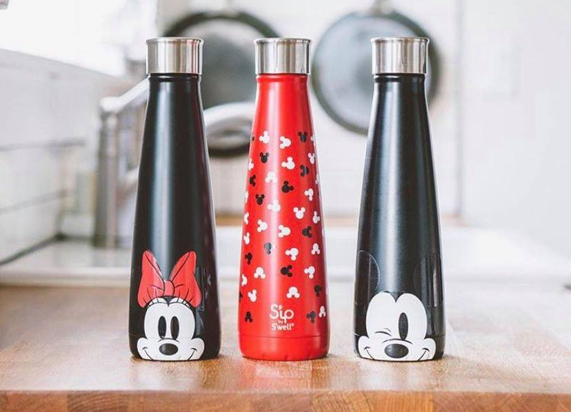 New Mickey And Minnie Water Bottles From Sip by S'well