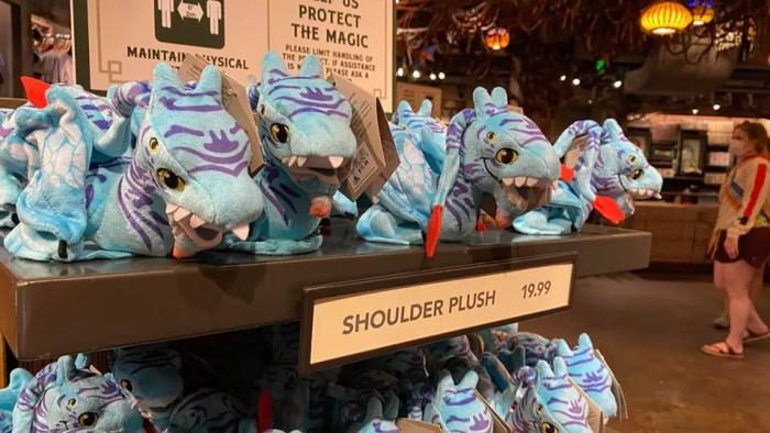 Avatar Wishables And Banshee Shoulder Pets Now At Animal Kingdom