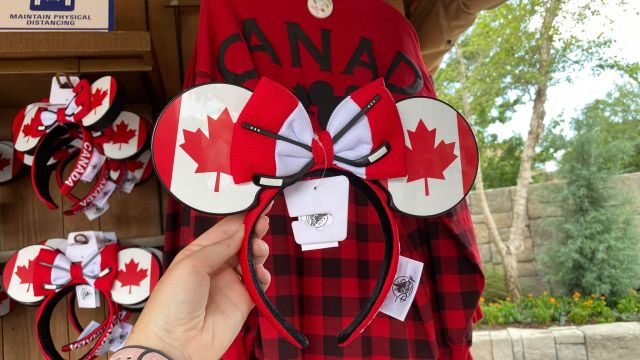Canadian Hockey Minnie Ears
