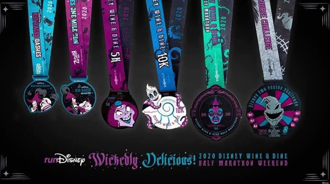 2020 Disney Wine & Dine Half Marathon Weekend at Walt Disney World Resort to be a virtual race