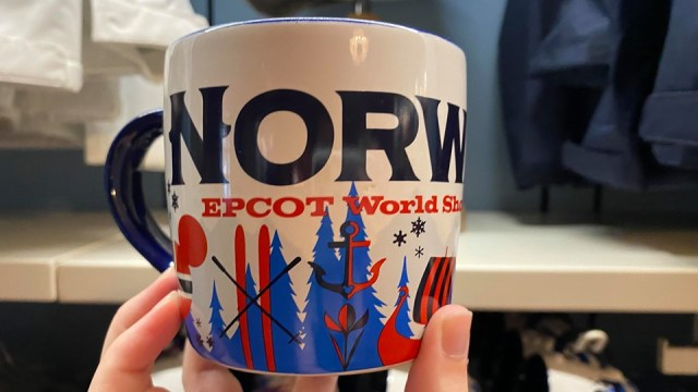 New Norway Disney Spirit Jersey Spotted At Epcot's World Showcase 2
