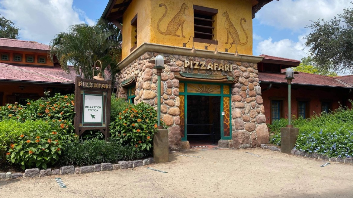What do the Relaxation Stations look like at the Animal Kingdom