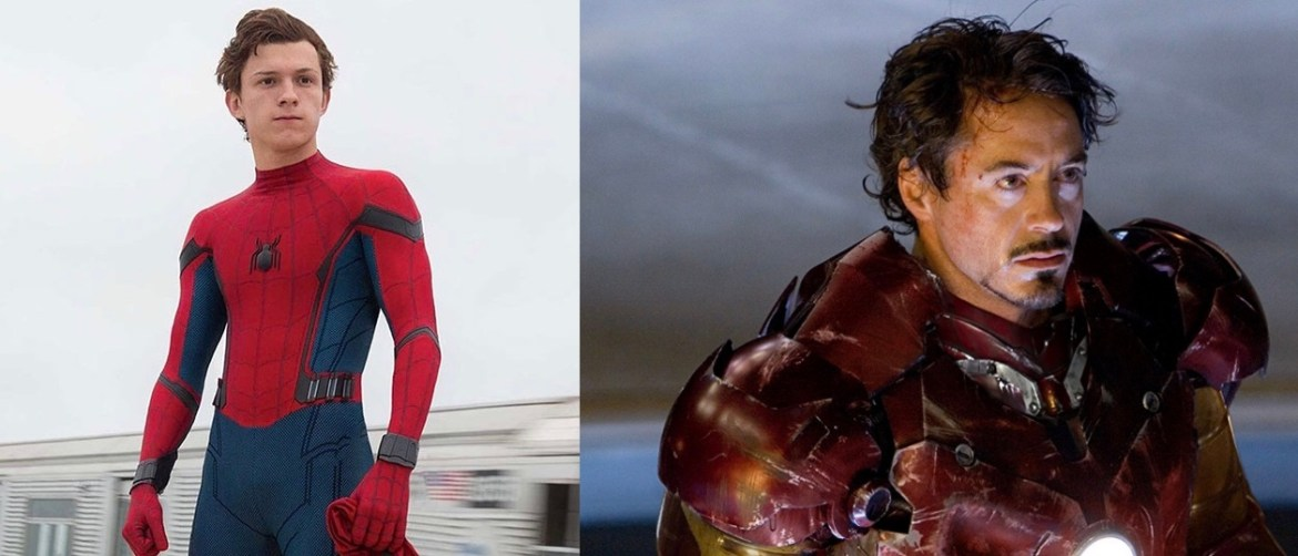 Robert Downey Jr.  and Tom Holland send a message to the boy who was attacked by a dog